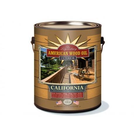 AMERICAN WOOD OIL CALIFORNIA EXTERIOR OIL OLEJ NA TARAS 1 GALON